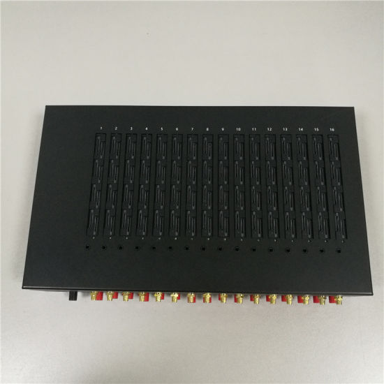 Automatically SIM Rotation GSM 16 Port SMS Modem Pool pictures & photos