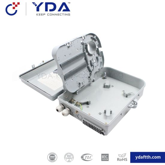 FTTH IP65 Yd-dB024c Outdoor Box 24 Port Fiber Optic Plastic Box Distribution Terminal Box