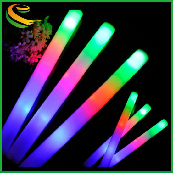 Promotional Concert Cheering Custom Glow LED Foam Sticks