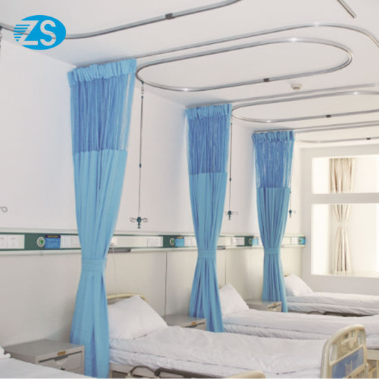 Ce Certification Simple Hospital Bed Screen Curtain pictures & photos