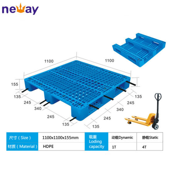 Hot Sell High Quality HDPE Material Flat Plastic Pallet pictures & photos