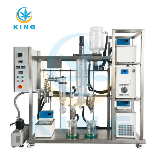 Glass Continuous Lab & Pilot Production Turnkey Wiped Film Distillation