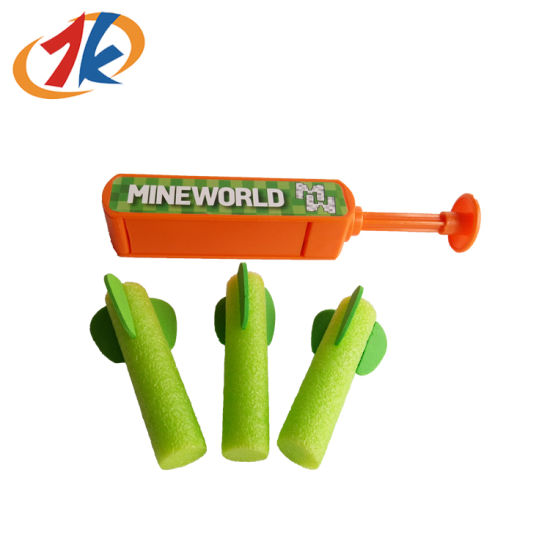 China Supplier Promotional Plastic EVA Bullets Launcher Toy