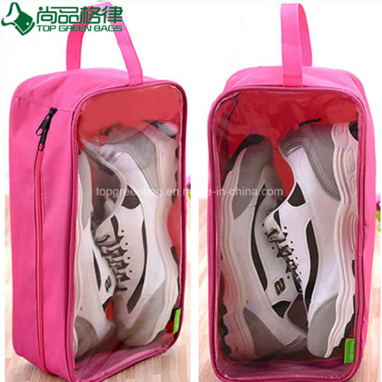 0f8f004193 China Clear Waterproof Nylon Polyester Outdoor Traveling Tote Shoes ...