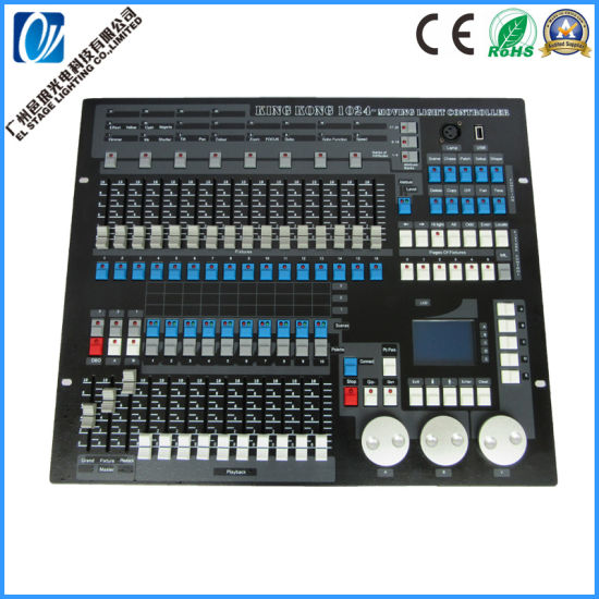 1024 Kingkong Console for Stage Lighting Controller with DMX 512/1990