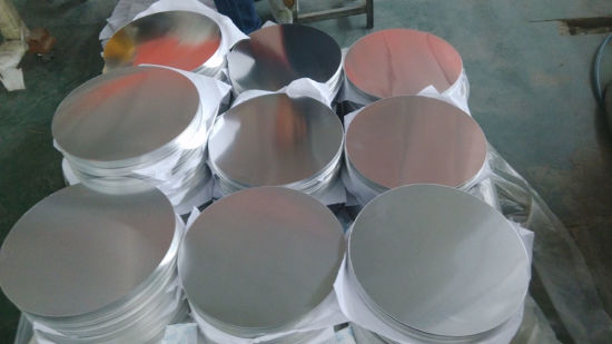 aluminum hot rolled disc 3003 grade pictures & photos
