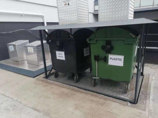 New Raising Equipment Trash Box Lifting Table for Public Street