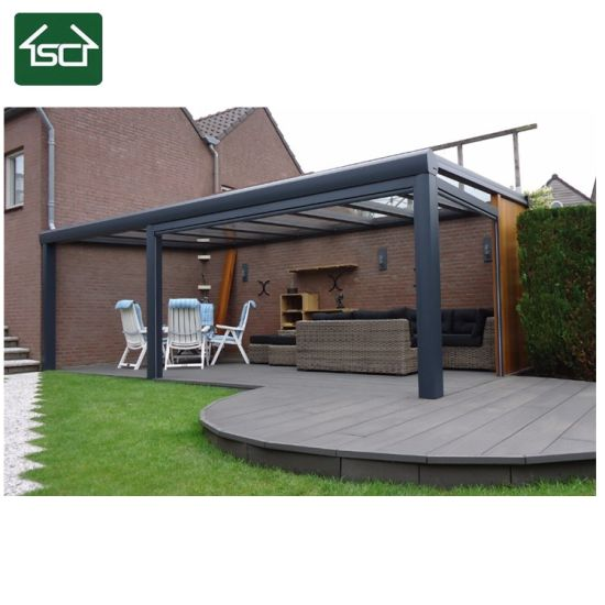 China Door Canopy Front Back Solid Roof Porch Outdoor Awning Shelter