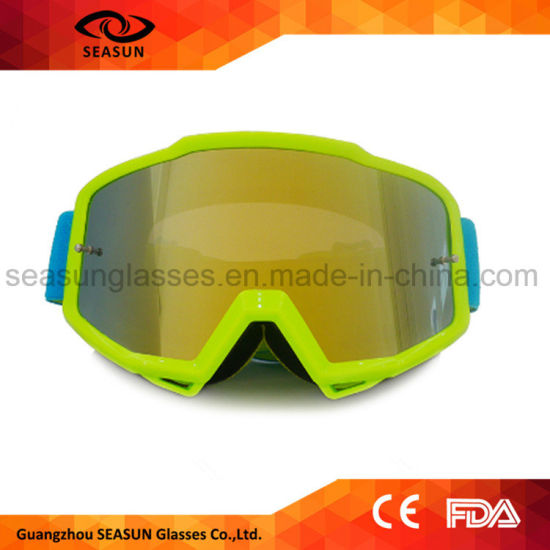 Selling Outdoor Sports UV400 Dustproof Motorcycle Motocross Skate Goggle
