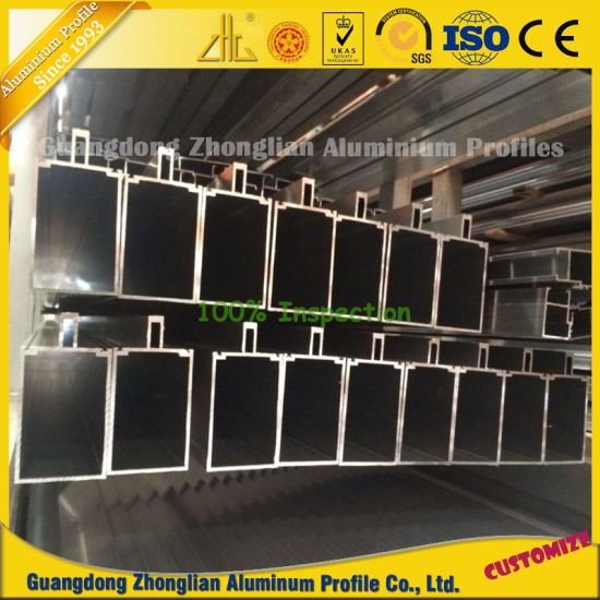 Powder Coated Aluminium Extrusion Curtain Wall Profile pictures & photos
