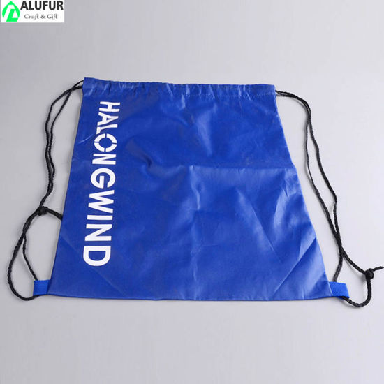 Gym Drawstring Cinch Bags Pattern with Cord Straps
