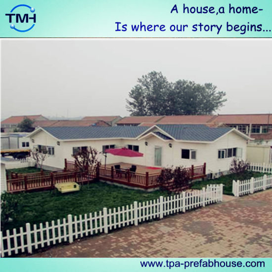 Tourist and Holiday Prefab House for Living pictures & photos
