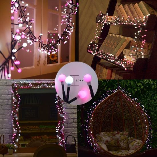 LED Firecracker String Lights with 8 Mode Memory Function pictures & photos
