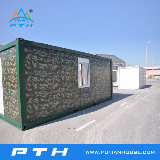 Prefabricated Container House with Toilet for Living Home/Dorm/Office pictures & photos