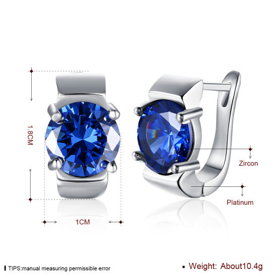 Fashion Design Zircon Women Earrings Hotsale Jewelry Promotion Gift pictures & photos