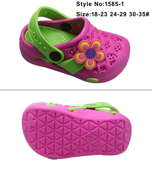 e0e697d020fa5f China Two Color Children Sandal Kids EVA Clogs with Charms - China ...