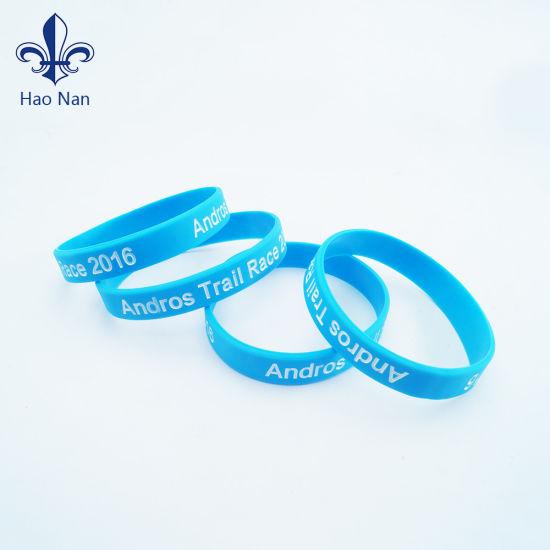 Custom Colorful Printed Silicone Wristband