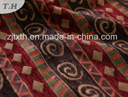 2016 Chenille Upholstery Fabric in 100% Polyester Fabric pictures & photos