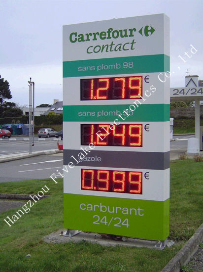 Reputable 8inch Gas Station LED Gas Price Signage (10-years durable)