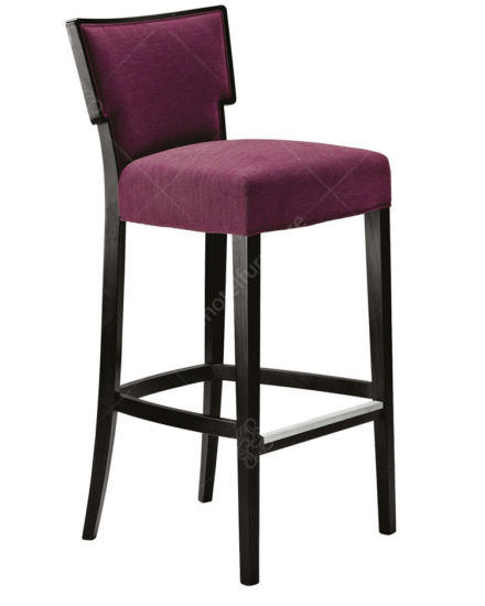 Latest Solid Wood Hotel Furniture Bar Stool Chair for Sale