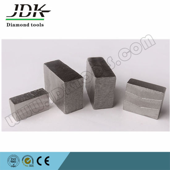 Grooved Type Diamond Segments for Cutting India Granite pictures & photos