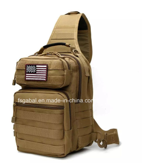 Camouflage Military Tactical Assualt Single Shoulder Backbag Sling Chest Sports Bag