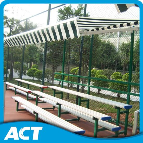 finest selection 61a89 c1d2c Portable Aluminum Indoor Bleachers with Canopy, Mobile Bleachers for Sale,  Stadium Stand