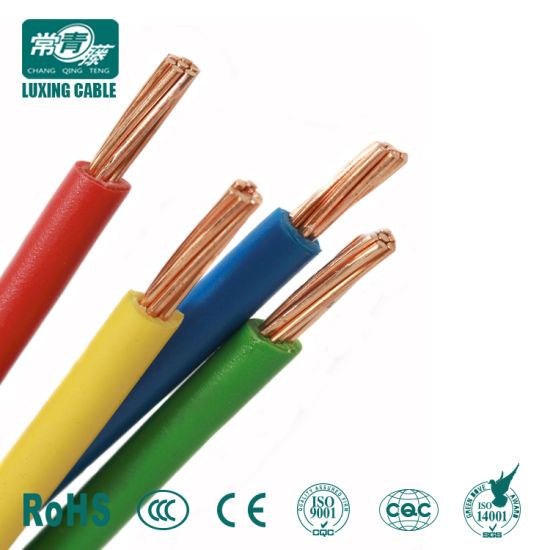 China Different Types of Copper Conductor Bvr Electrical Cable Wire ...