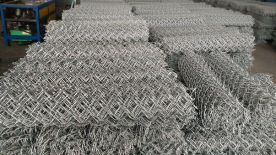 Heavy Zinc Coated Chain Link Mesh pictures & photos