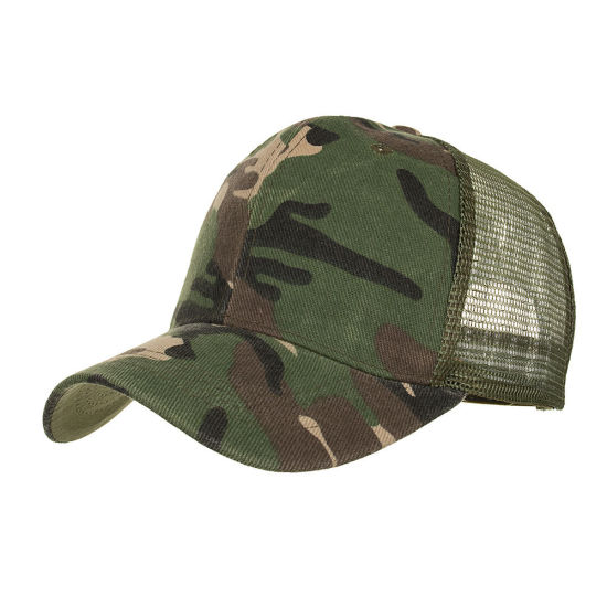 05c9ea59d China Good Quality Camouflaged Caps Unisex Camo Trucker Hats - China ...