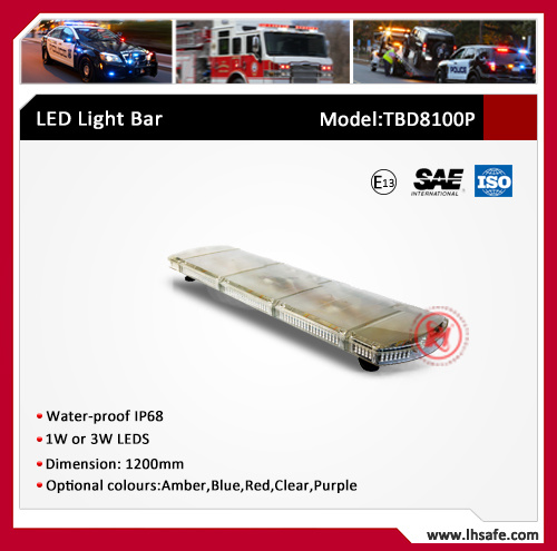 LED Emergency Vehicle Lightbar /COB LED Warning Light Bar for Truck (TBD8100P) pictures & photos