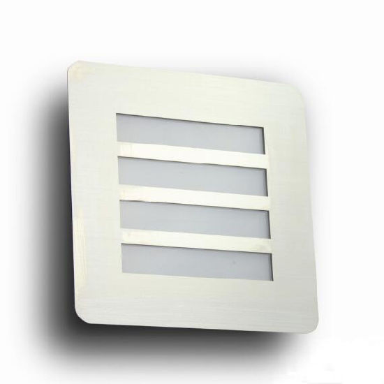 Stainless Steel IP44 LED Wall Lamp