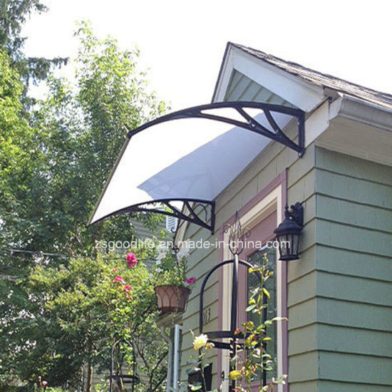 Polycarbonate Rain Shelter For Front Door Window Or Patio