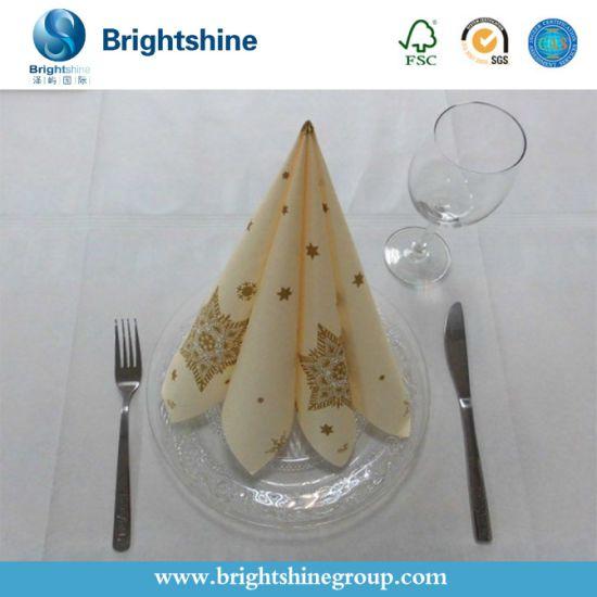 50g/55g/60g/70g Airlaid Napkin Paper for Dinnder