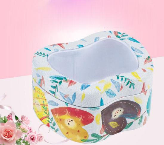 Whole Customize Window Style Tin Box Wedding Favor Sugar Chocolate Cookie Mooncake