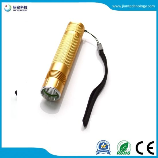18650 Battery Rechargeable LED Mini Torch for Mountain Search pictures & photos