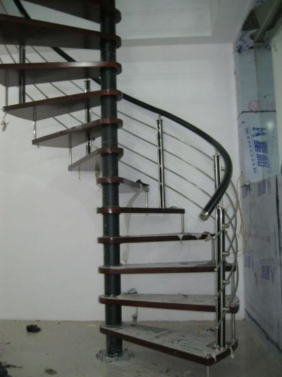 Modern Integral Steel Structure Stairs pictures & photos