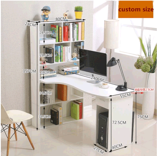 Low Price 18mm Melamine Particle Board Computer Desk Made In China