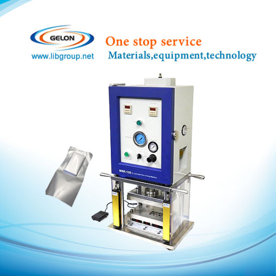 Semi-Automatic Aluminium Laminated Film Pouch Cell Forming Machine for Lithium Battery