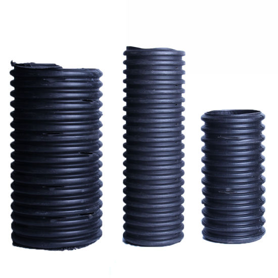 HDPE Perforated Corrugated Pipe Water Supply Pipe for Building