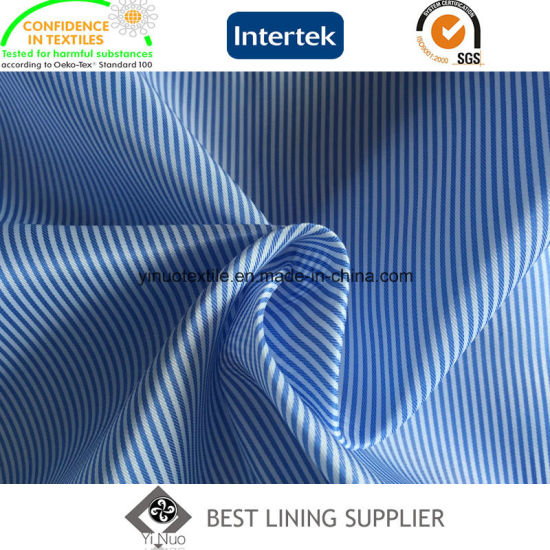 Men's Suit Stripe Body Lining Fabric China Manufacturer