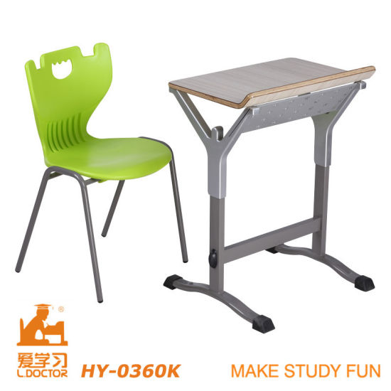 High Quality Cheap College Table And Chair