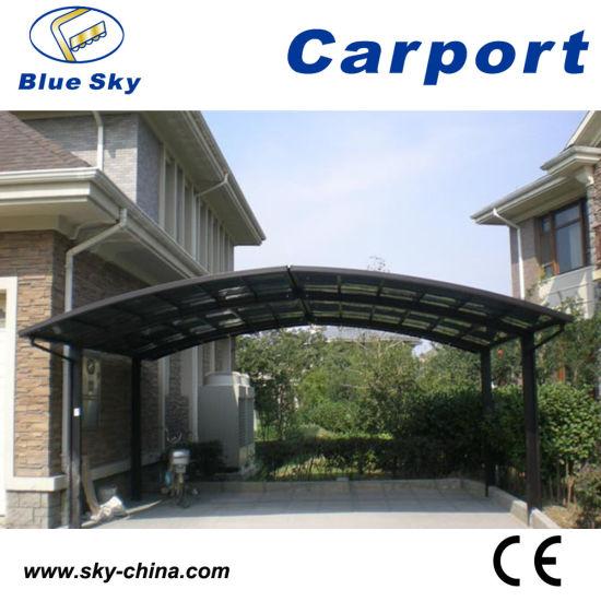 Modern Design Polycarbonate Car Garage for Carport