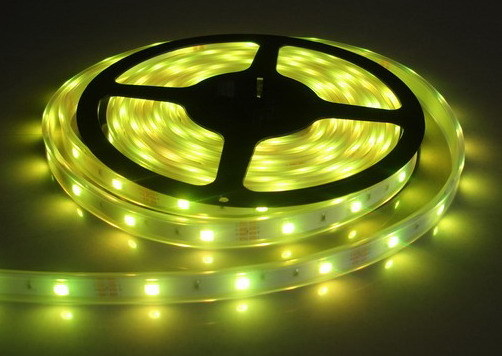 Waterproof 120LED/M SMD3258 DC12V LED Flexible Strip Light for Decoration