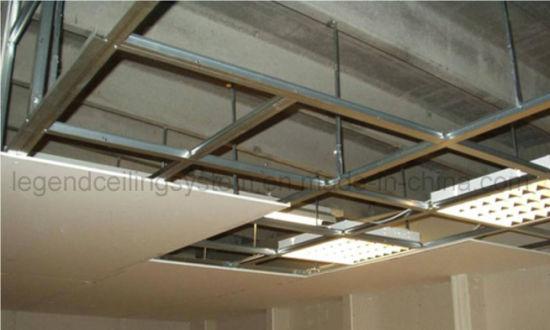 Sri Lanka Project Gypsum Omega Ceiling System China