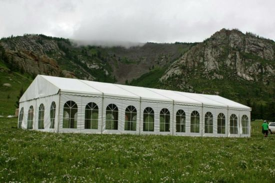 18X50m Economy Aluminum Warehouse Tent Temporary Storage House pictures & photos