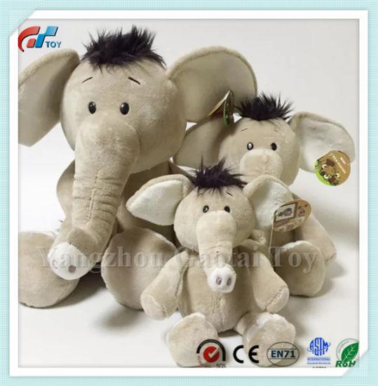 China Bsci Factory New Plush Elephant Stuffed Animal Toy Plush For