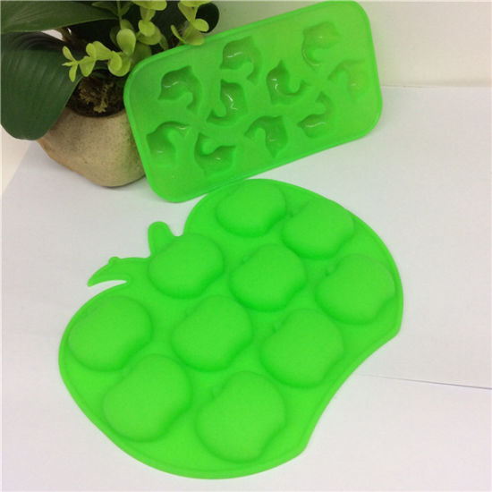 FDA High-Quality Durable Fish Siliocne Ice Cube Mold pictures & photos