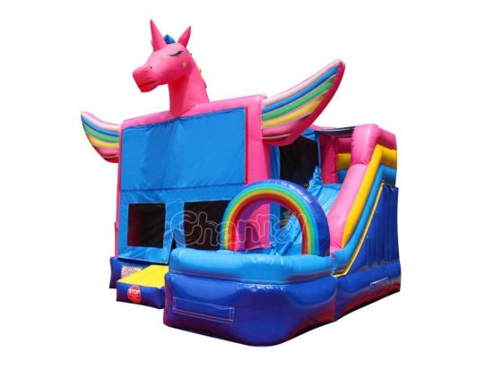 Unicorn Inflatable Wet / Dry Bouncer Combo Chb1162 pictures & photos