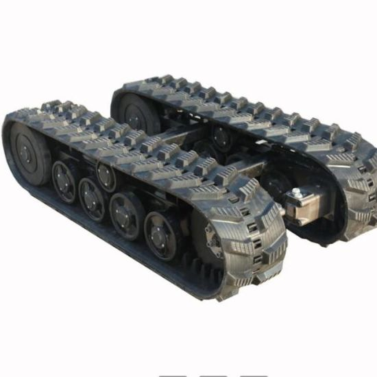 Rubber Track Undercarriage (1500mmX800mmX370mm) , Using 250mm Rubber Track pictures & photos